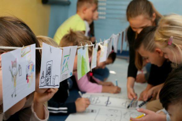 dzieci projektują
