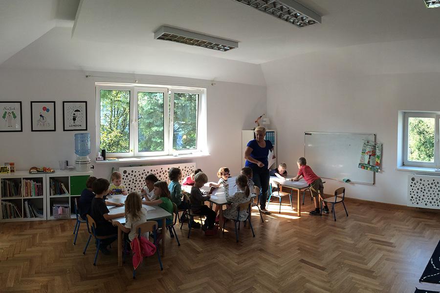 Przedszkole polsko-francuskie Trampoline