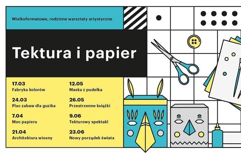 Wrocław warsztaty dla dzieci – Tektura i Papier