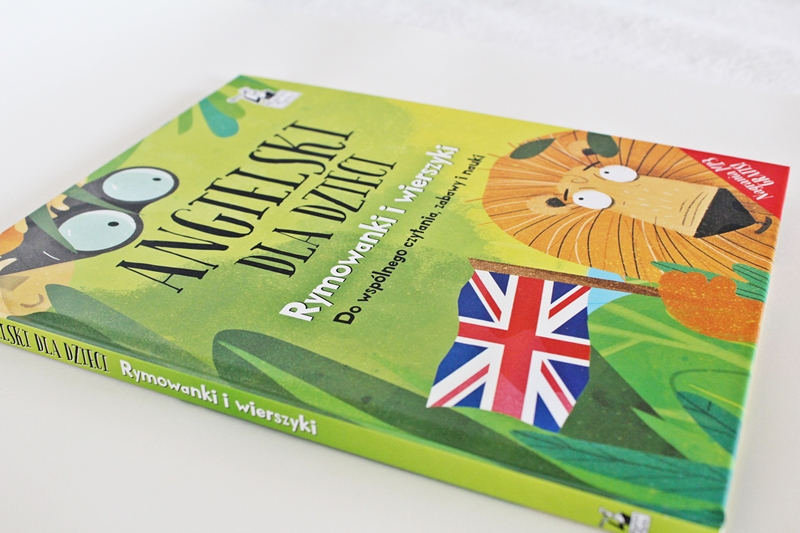 """Czytamy i rymujemy- recenzja książki """"Angielski dla dzieci. Rymowanki i wierszyki"""""""